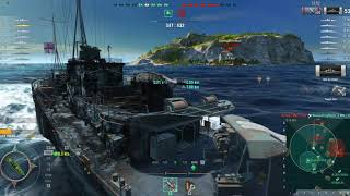 World Of Warships With Bullet Sponge Bob: 1 55 Taking The Black Swan Out ...