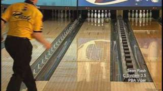 Brunswick Sean Rash C System 3.5 PBA Patterns