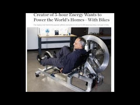Creator of 5 hour Energy Wants to Power the World's Homes With Bikes | 2017