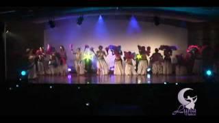 ESCUELA LUNA DANCE ,SHOW BELLYGLAM. LIMA PERU