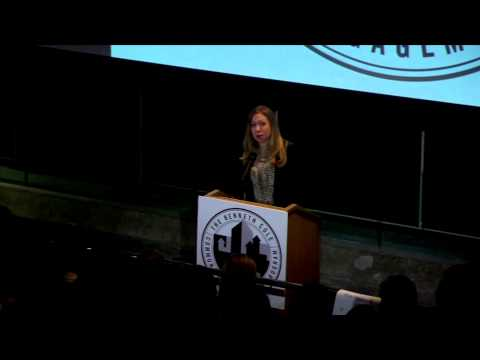 Chelsea Clinton at the Kenneth Cole Community Engagement Forum