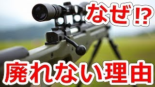 ボルトアクションライフルが廃れない理由【NHG】実銃解説