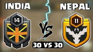 🔥/INDIA VS NEPAL!! DANGEROUS 😱 WAR/30 VS 30
