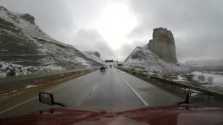 Ishift, Volvo vn780 D13 425HP Nevada i Wyoming - Vlog 03.11.2015