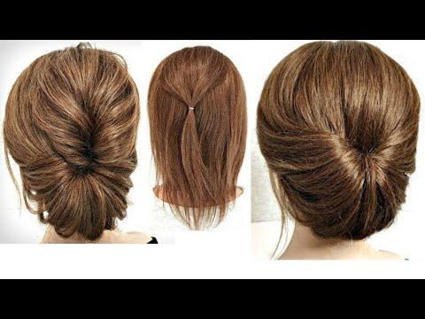 3 Прически на Короткие волосы без ШПИЛЕК и ЗАКОЛОК!3 Hairstyles Without Pins For SHORT Hair.