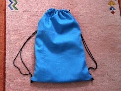 Diy Backpack Tote Bag Diy Bag Drawstring Bag Bag Sewing Tutorial Youtube
