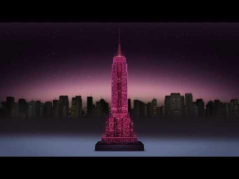 Ravensburger 3D pimedas helendav pusle Empire State Building