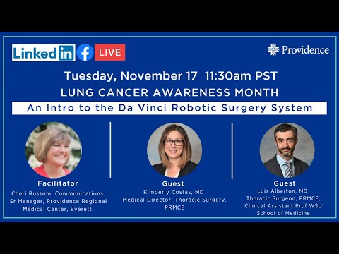 Lung Cancer awareness and da Vinci robotic surgery
