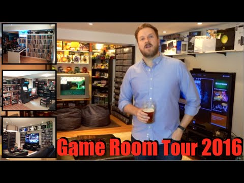 2016 Game Room Tour - Over 5,000 Games & 100+ Consoles