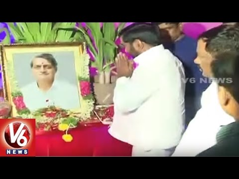 Telangana State Ministers Launches Vidyasagar Rao Memorial Natakotsavam | Hyderabad | V6 News