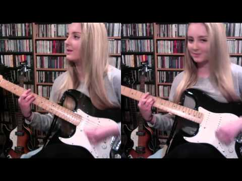 Me Singing 'I Want To Tell You' By The Beatles (Full Instrumental Cover By Amy Slattery)