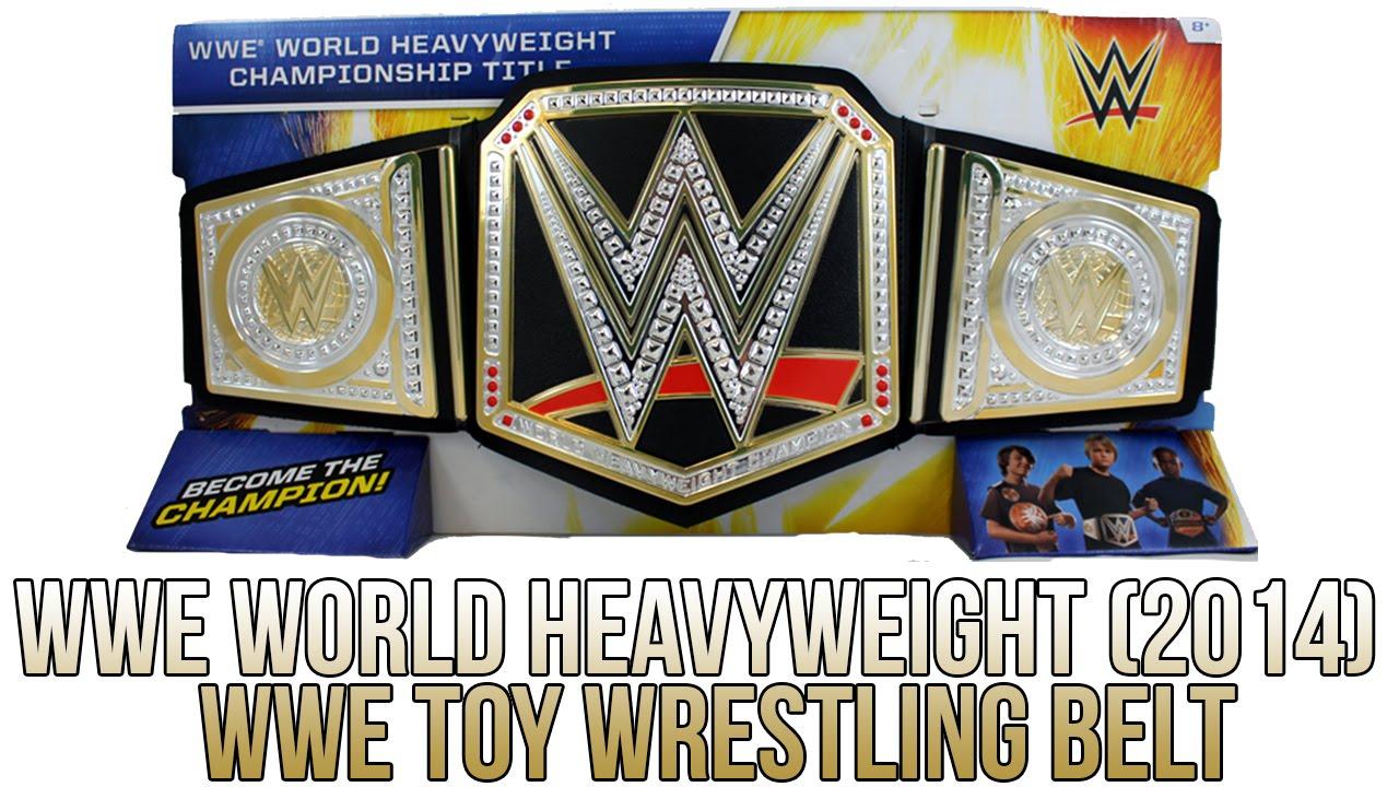 WWE FIGURE INSIDER: WWE World Heavyweight Championship ...