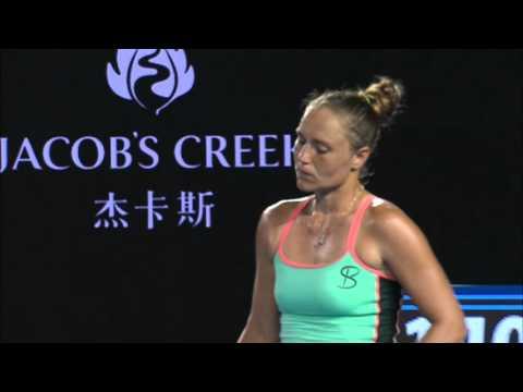 Belinda Bencic v Kateryna Bondarenko highlights (3R)   Australian Open 2016