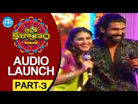 Aaha Kalyanam Audio Launch Part - 3 - Nani - Vaani Kapoor