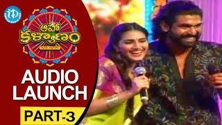 Aaha Kalyanam Audio Launch Part - 3 - Nani - Vaani Kapoor