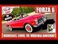 FORZA 6 RIVALS MERCEDES 280 SL VS VIRGINIA RACEWAY ALT