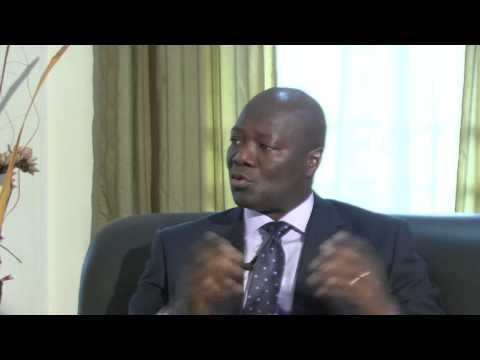 Interview DR Kaifala Marrah Minister of Finance