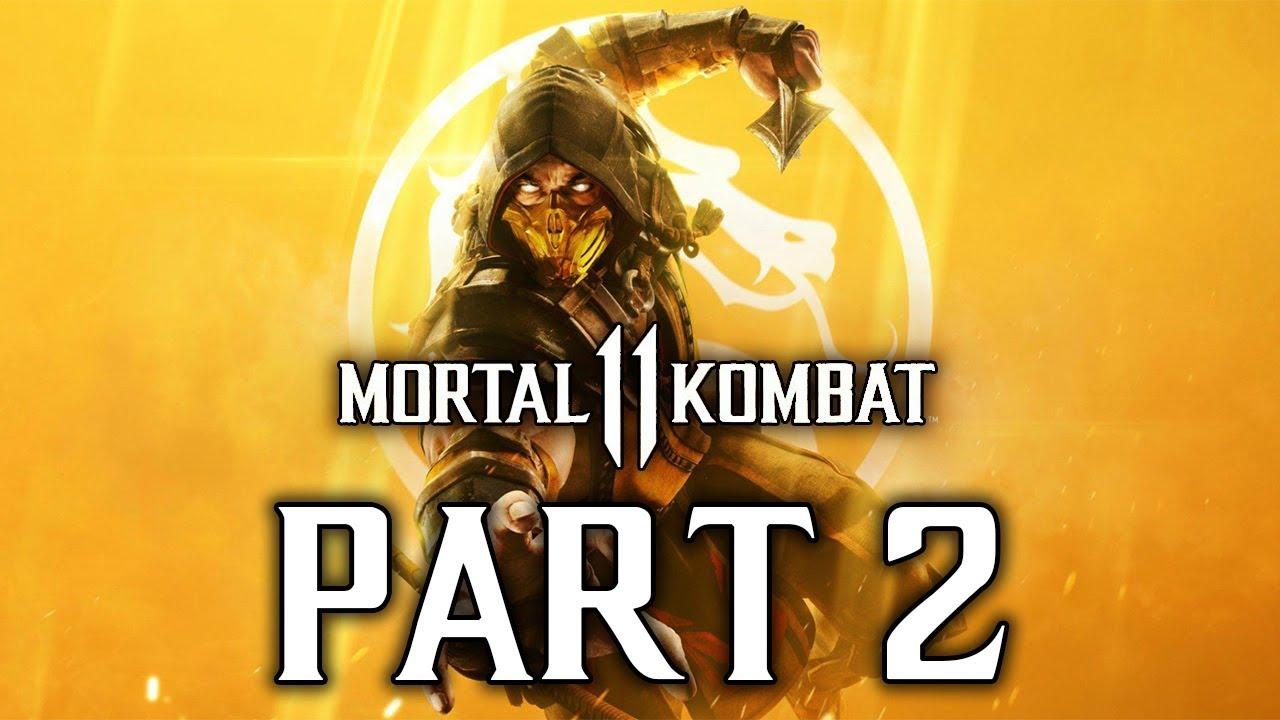 Mortal Kombat 11 - Let's Play (Story) - Part 2 -