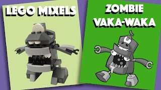 LEGO Mixels - Zombie Vaka-Waka - Stop Motion Build (How to Build)