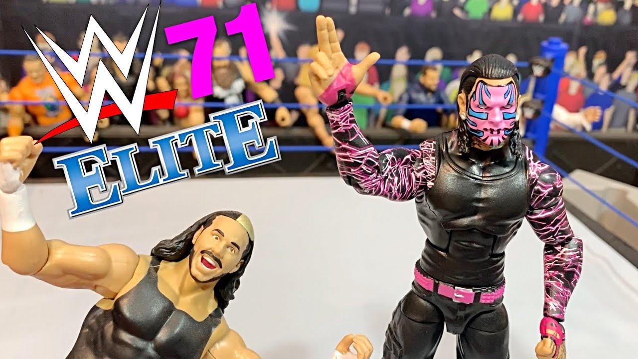 WWE Mattel JEFF HARDY Elite 71 WRESTLING FIGURE