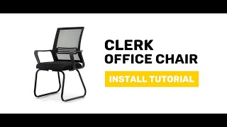 JIJI Clerk Office Chair - Display and Install Procedure