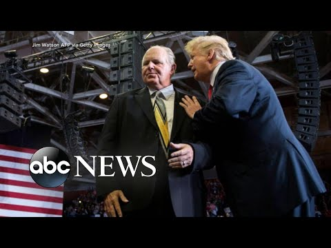 Trump breaks his silence after Rush …