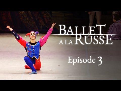 A ballet school newbie gets a lead role. Will she cope? Ballet a la Russe E3