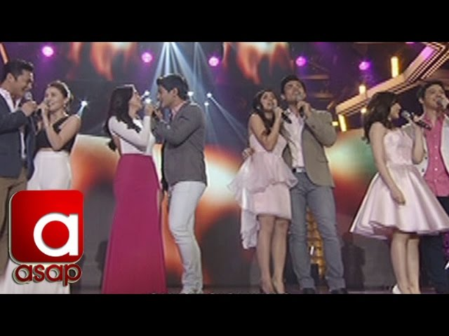 ASAP: 2016 Teleserye love teams perform on ASAP