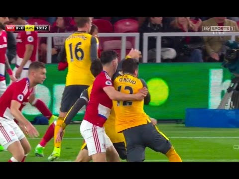 Middlesbrough vs Arsenal 1-2 April 17th 2017 All Goals and Highlights!