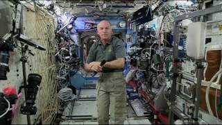 New Space Station Commander Discusses Life in Space with the Media