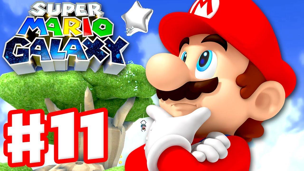 Super Mario Galaxy - Gameplay Walkthrough Part 11 - Sea Slide Galaxy! (Super Mario 3D All Stars)