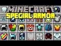 Minecraft SPECIAL ARMOR MOD! | OP ARMOR ABILITIES, JETPACKS, & MORE! | Modded Mini-Game