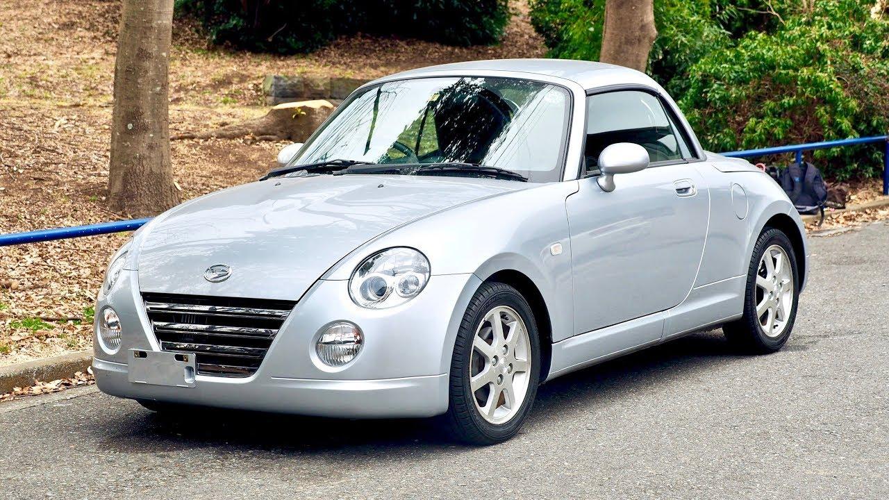 2003 Daihatsu Copen Retractable Hardtop Convertible
