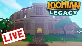 🔴ROBLOX LOOMIAN LEGACY LIVE! (PvP COLOSSEUM ist OUT!)