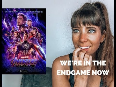 AVENGERS END GAME OFFICIAL TRAILER #2- REACTION