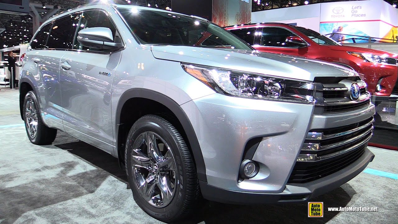 2017 Toyota Highlander Limited Hybrid - Exterior and Interior ...