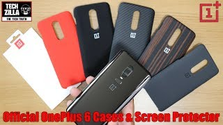 OnePlus 6 Official Cases and Screen Protector