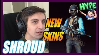 REACTING TO HIS NEW SKINS  | PUBG | SEPTEMBER 13 , 2018