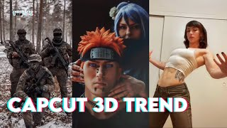 Capcut 3D TREND - TikTok Compilation