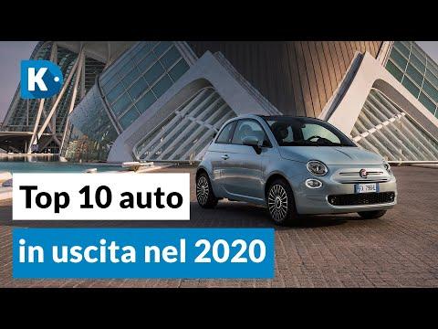 TOP 10 AUTO IN USCITA NEL 2020