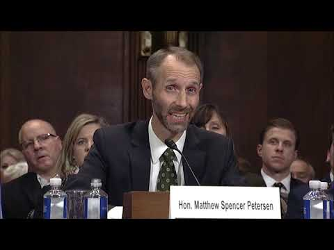 Whitehouse Remarks in Judiciary Hearing on District Court Judicial Nominations