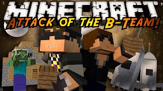 minecraft attack of the b team the adventure begins