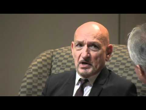 "Sir Ben Kingsley on portraying Simon Wiesenthal in ""Murderers Among Us"""