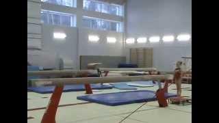 Спортивная гимнастика. Девочки. Бревно.(Спортивная гимнастика. Девочки. Обязательная программа 1 разряда (первый взрослый), бревно. Другие видео..., 2015-04-09T11:06:55.000Z)