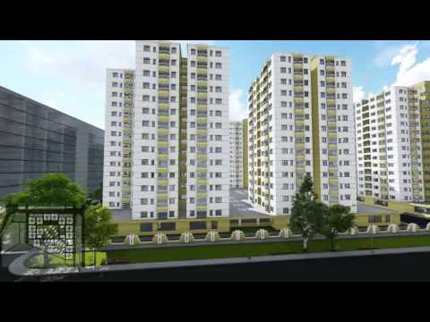 Uttara Apartment Project Of Block A 3d Animation