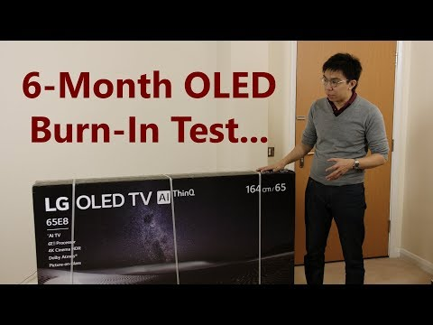 OLED Burn-In Test: