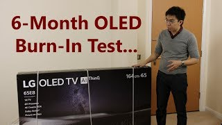 OLED Burn-In Test: No Screen Burn After 6 Months of Use, 20 Hours A Day