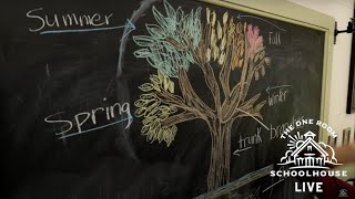 10/16/2020 - Fall Deciduous Tree Lesson - The One Room Schoolhouse LIVE
