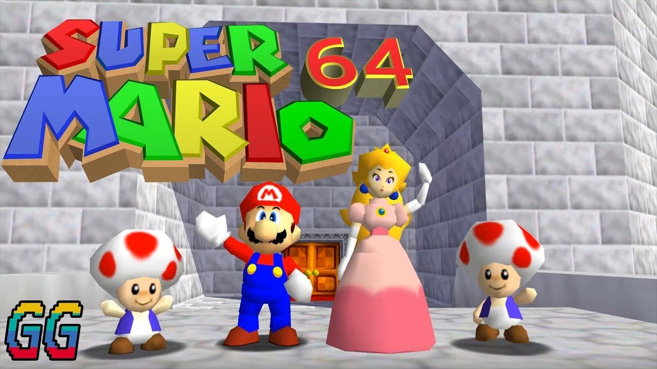 NINTENDO 64 (Console) Super Mario 64 1996 PLAYTHROUGH (100%) - YouTube