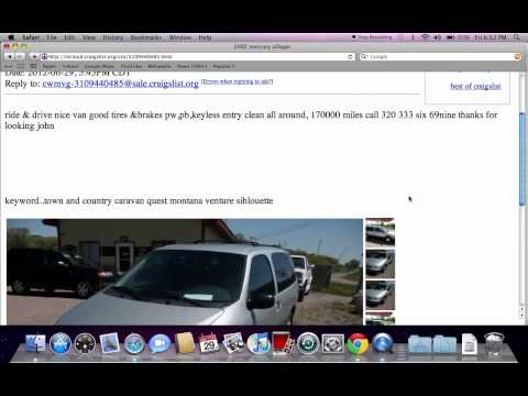 Craigslist St Cloud MN – Used Cars, Trucks, Vans and SUVs For Sale by Owner
